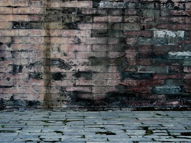 31 - old Beijing brick wall