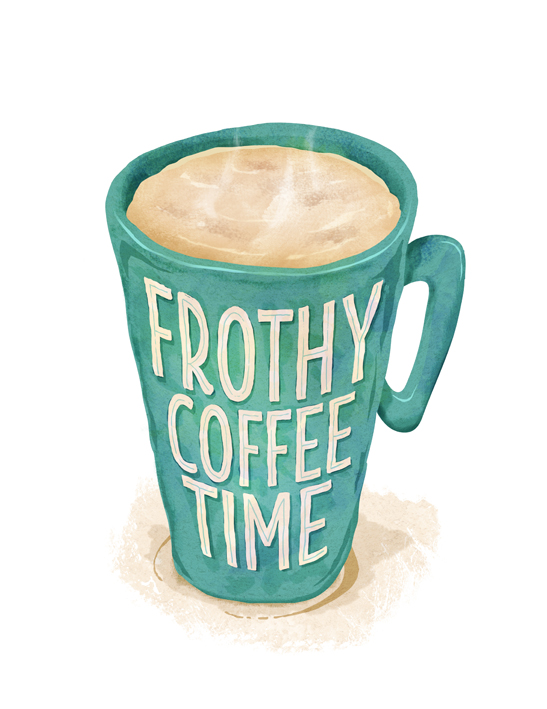 frothy-coffee-time